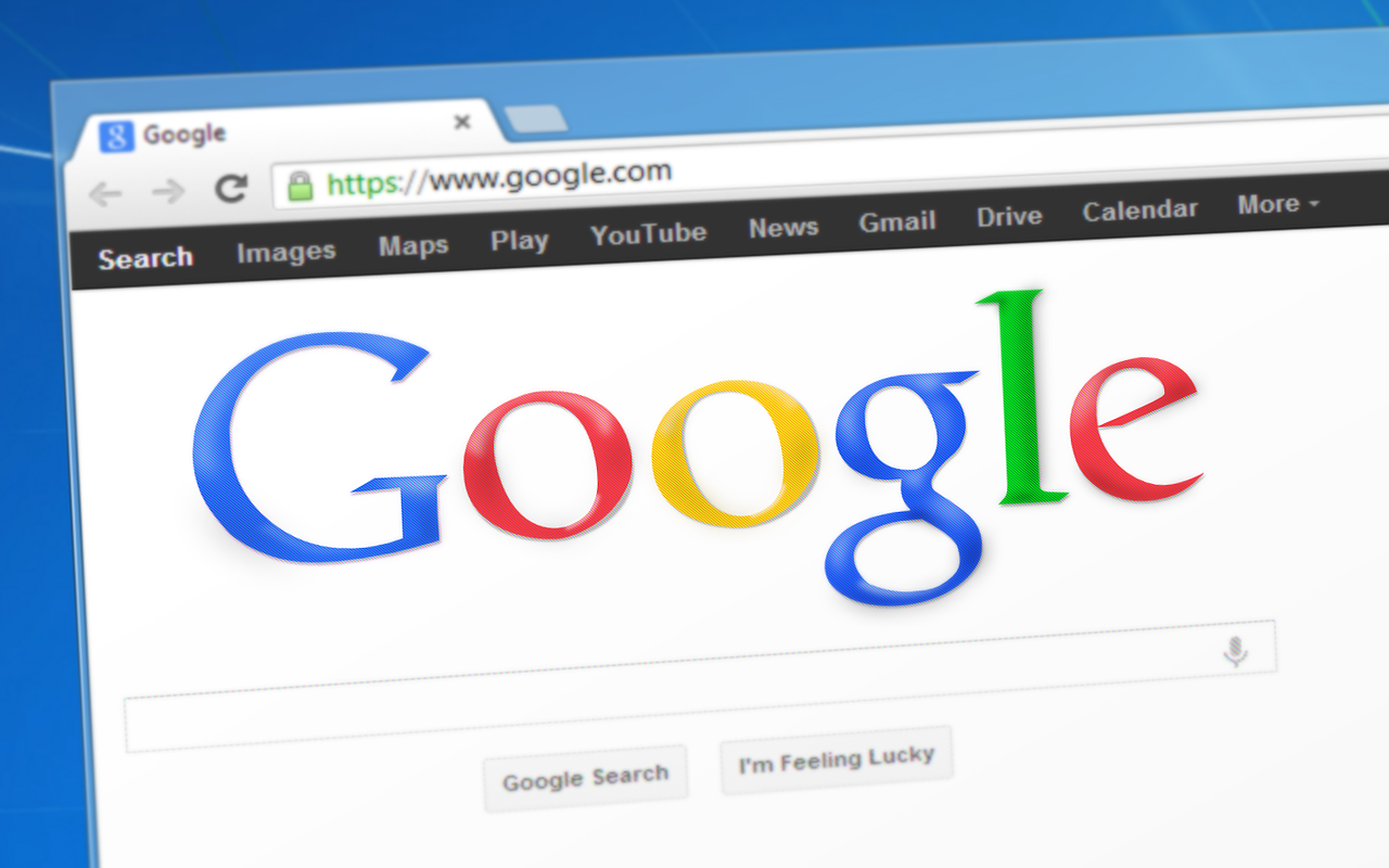 Pagina de pornire Google este brevetată