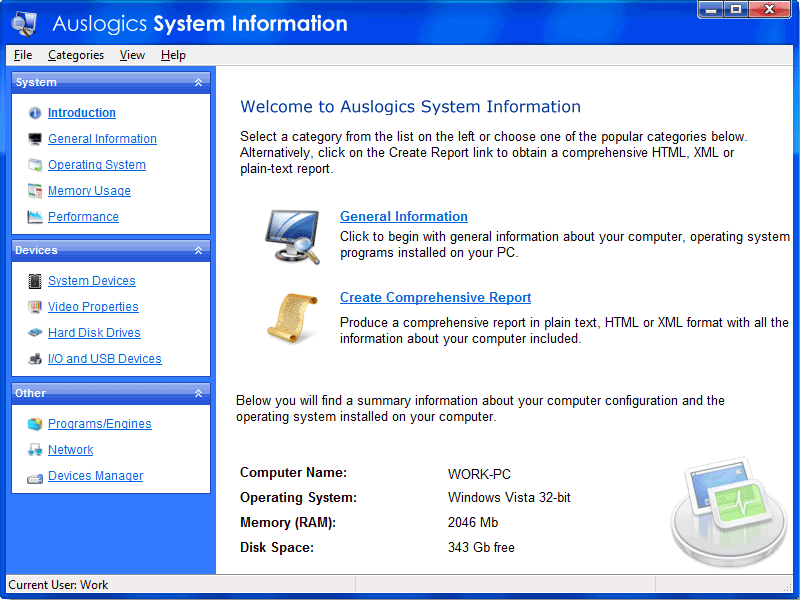 Cum obținem informații detaliate despre sistemul nostru?