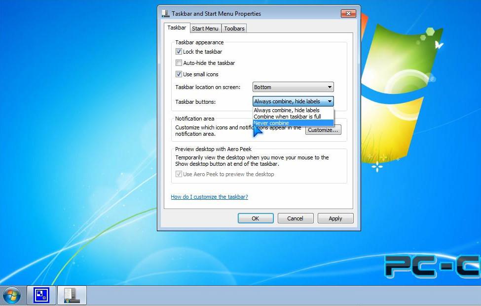 O customizare banala pentru Windows 7