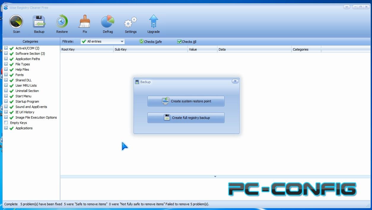 Două programe destinate optimizării și măririi performanței calculatorului