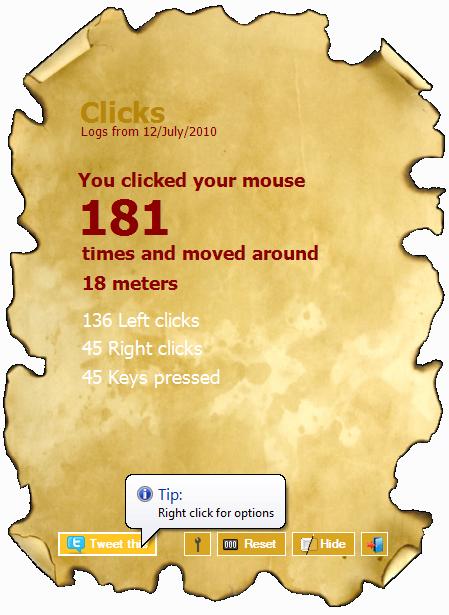 Cum monitorizam clickurile de mouse
