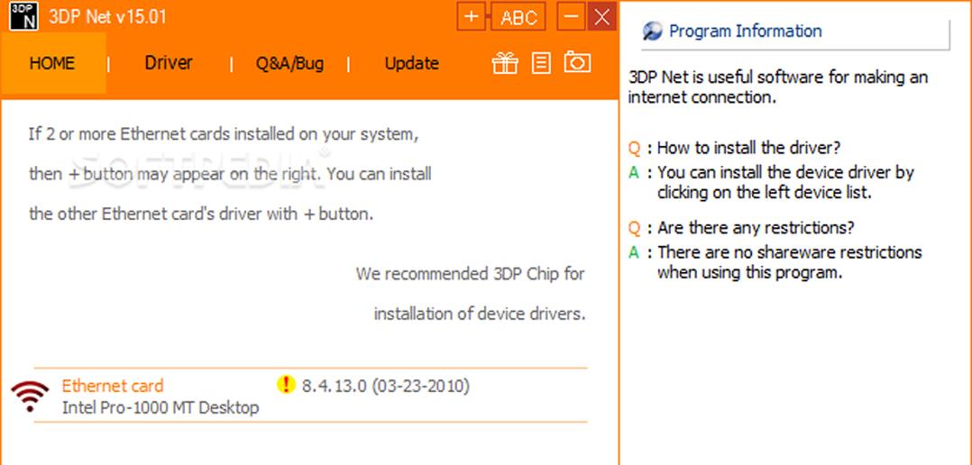 Cum instalam driverele in cazul in care am pierdut CD-ul de instalare, si Windows-ul nu recunoaste placa de retea