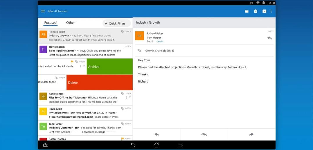9 clienți de e-mail pentru Android