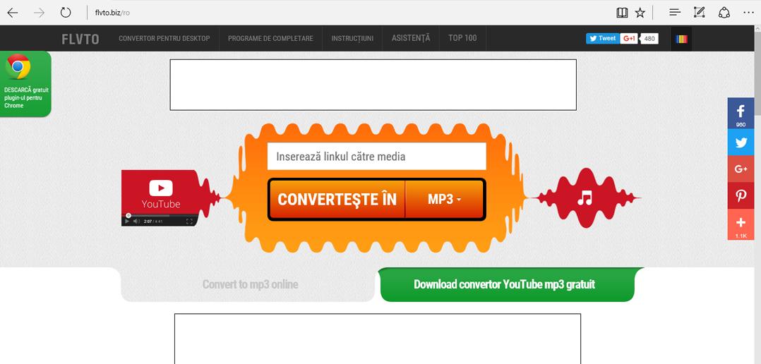 Cum descărcăm muzică gratuit de pe YouTube?