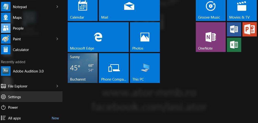 Cum resetăm sistemul de operare Windows 10