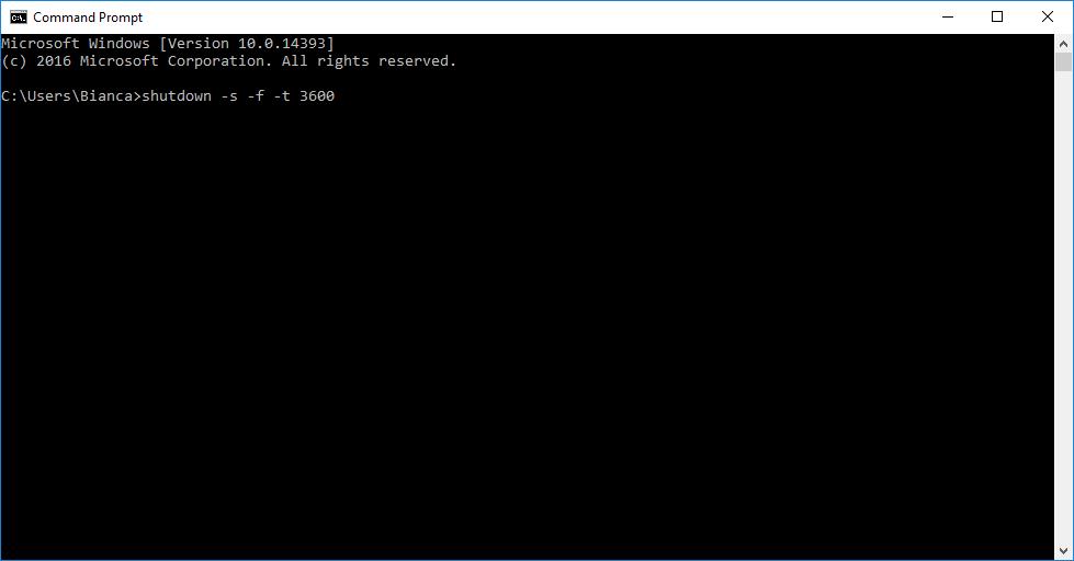 Cum se programează PC-ul să se oprească singur?