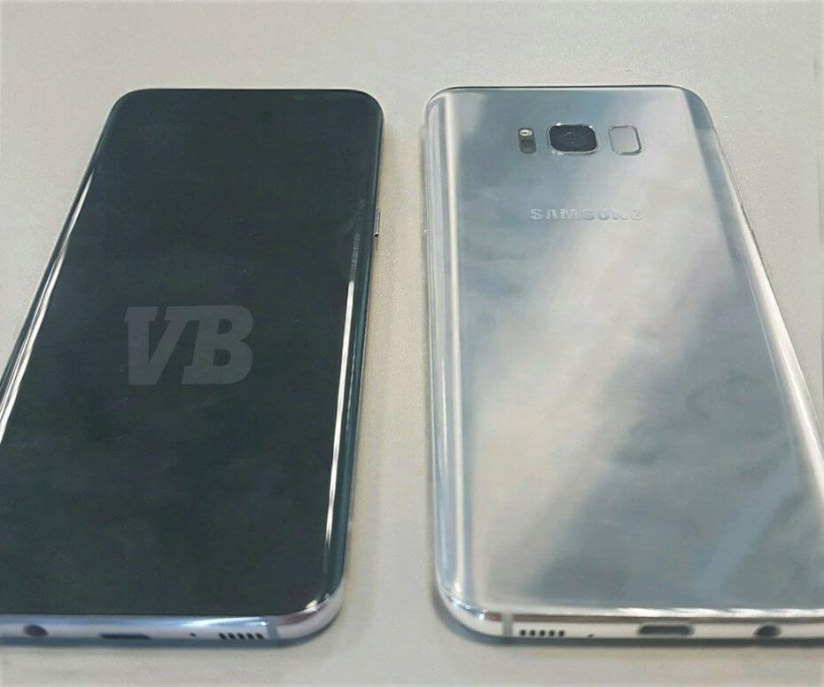Cum arată Samsung Galaxy S8?