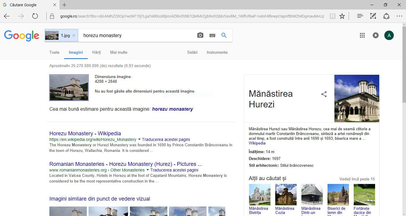 Cum cauți pe Google informații după o imagine?