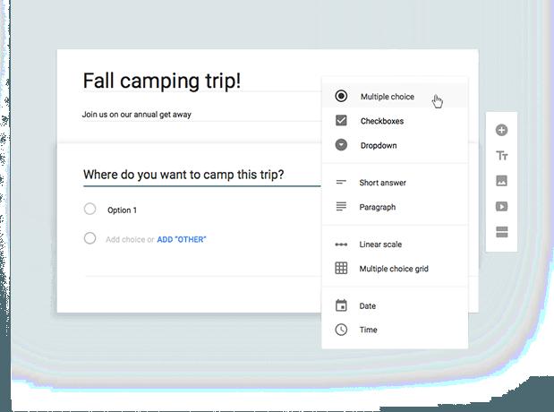 Cum se crează formulare și chestionare online cu Google Forms?