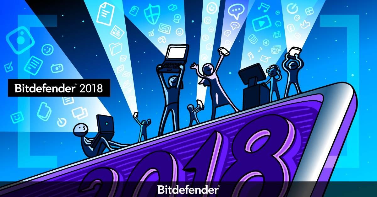 Suita de soluții Bitdefender 2018 dublează protecția contra ransomware și ferește utilizatorii de spionaj