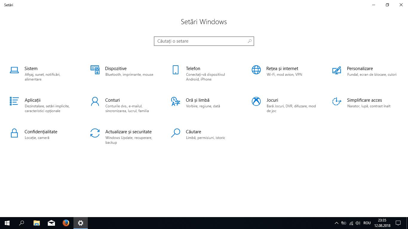 Cum setezi Windows 10 în limba română?