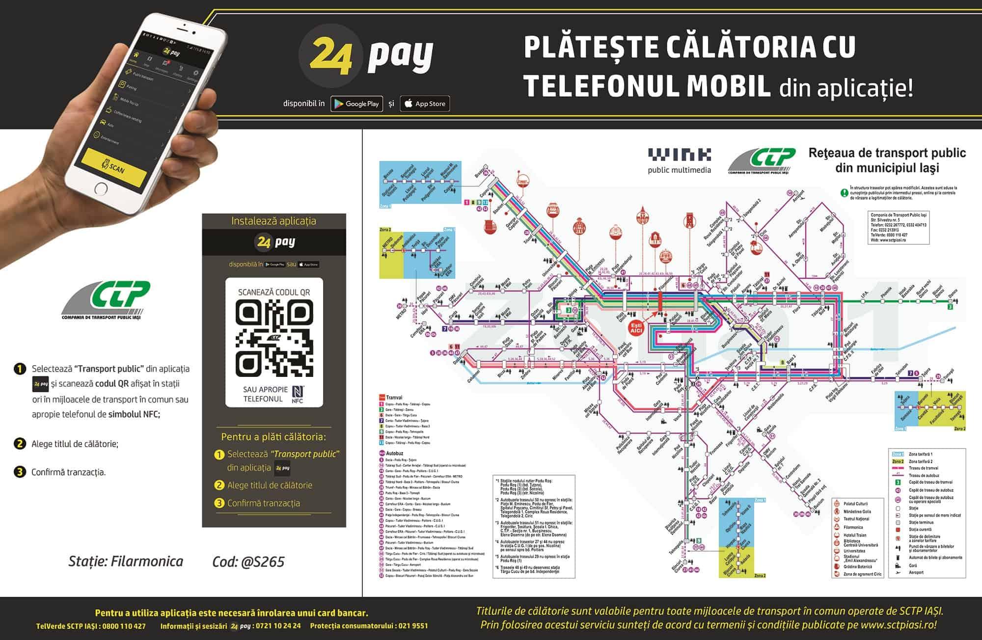 Cum poți plăti biletul de autobuz cu telefonul?