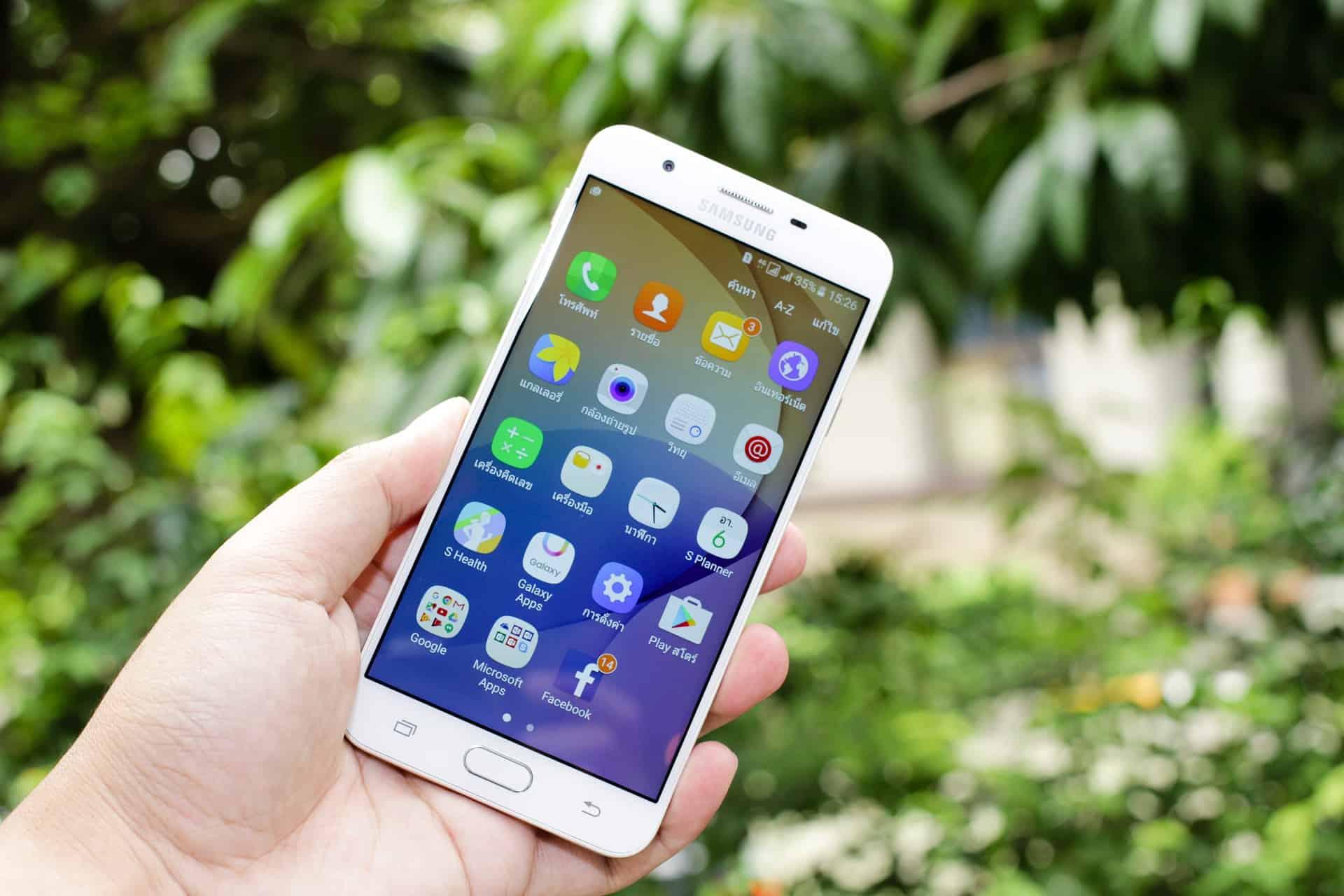 Setări detaliate Samsung Galaxy J5