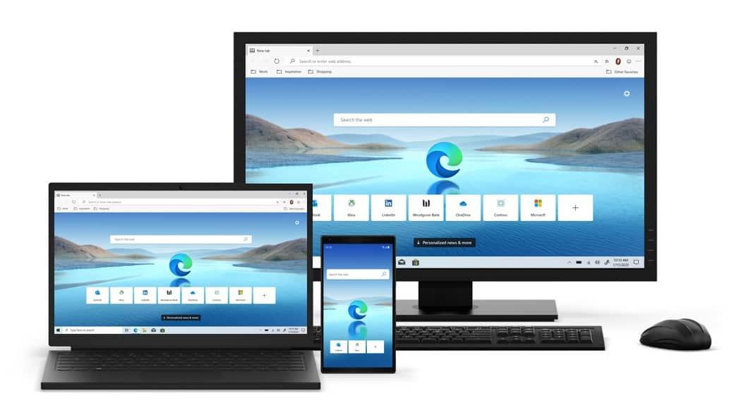 Browserul Microsoft Edge a fost actualizat