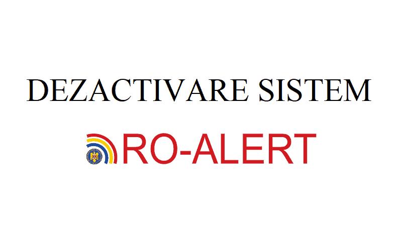 (VIDEO) Cum dezactivez sitemul RO Alert